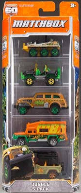 Matchbox Car Assortment - 5 count