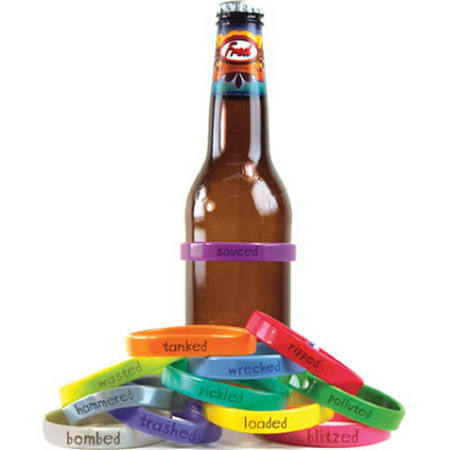 Fred and Friends Phrases Beer Bottle Bands