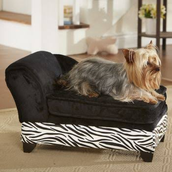 Enchanted Home Pet Zebra Storage Dog Bed