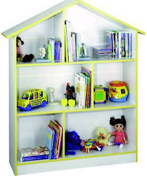 Venture Horizon Child's Dollhouse Bookcase