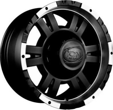 Detroit Wheels 182 Series Black Matte