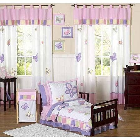 Butterfly Pink Purple 5 Piece Toddler