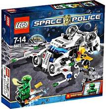 LEGO Space Police Gold Heist 5971 5791