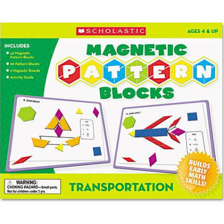 Scholastic 0545119375 Magnetic Pattern
