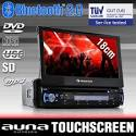 "Autoradio Dvd Coche Pantalla Tactil 18cm 7"" Lcd Entrada Mp3 Cd Usb Sd Bluetooth"