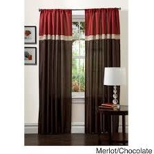 Triangle Home Fashions Terra Window Curtain