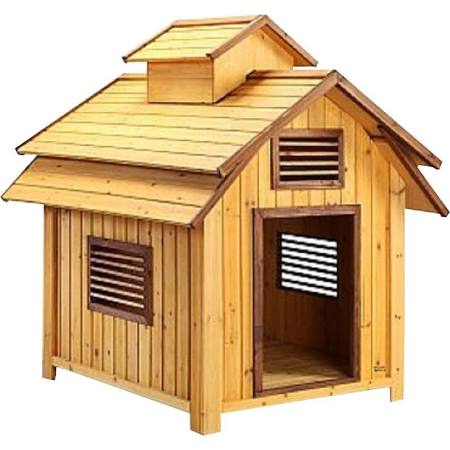 Pet Squeak Bird House Dog House - Large