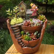 Cute Miniature Fairy Garden