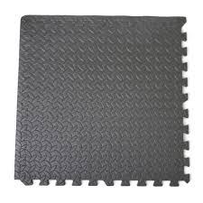 Foam Tile Flooring Uk by Black Checker Interlocking 50cm Eva Foam Tiles Soft Floor Outlet