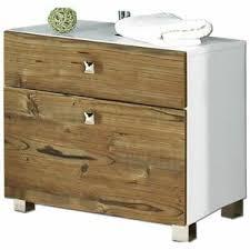 details zu badezimmer waschbecken schrank mit schublade silberfichte unterschrank badmöbel