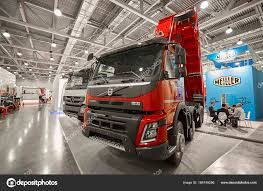 MOSCOW, SEP, 5, 2017: View On Volvo Dump Truck Exhibit On Commercial ... Volvo Owner Geely Buys Surprise Stake In To Reveal Electric Semi Truck At Ifat In Munich Eltrivecom Global Homepage Trucks And Renova Test Autonomous Refuse Truck 2017 Vn670 Overview Youtube The Epic Split Featuring Van Damme Inspiration Room Fh Named Intertional Of The Year 2014 Commercial Motor Used Dealer Mack Kenworth Roll Off Introducing Concept A 2019 Vnl 64t 860 Globetrotter Xl Sleeper Exterior Interior