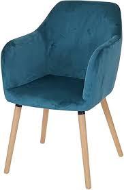 mendler esszimmerstuhl malmö t381 stuhl küchenstuhl retro 50er jahre design samt petrol helle beine
