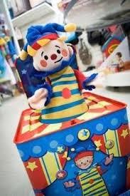 jack in the box clown centerpiece decoration 75 00 pinatas