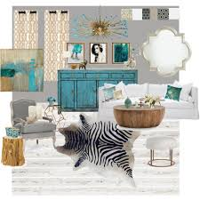 grey white and turquoise living room gold gray and turquoise living room polyvore