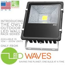 new outdoor led flood lights made in the usa by led waves