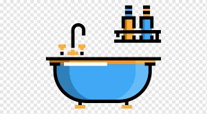 badewanne skalierbare grafik badezimmer symbol badewanne