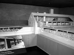 chambre a gaz un voyage d étude à auschwitz maquette des chambres à gaz des