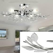 details zu decken leuchte wohnzimmer esszimmer diele le licht acryl blätter design licht