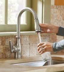 Moen Touchless Kitchen Faucet Video by Moen Pullout Faucet Improvements Kitchen