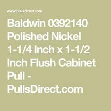 Baldwin 0392140 Polished Nickel 1 4 Inch X 2