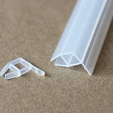 6 8 10 12mm verre joints sans cadre porte de fenêtre balcon