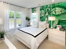 Mint Green Bedroom Ideas by Apartment Bedroom Yellow Green Wall Paint Combination In Modern