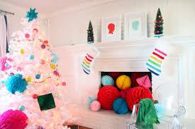 Flocked Pre Lit Pencil Christmas Tree by Pictures Of Decorated White Flocked Christmas Trees Flocking Add