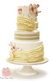 Pink Cake Box Wedding Cake Denville NJ WeddingWire