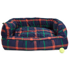 Xlarge Dog Beds by Telluride Exploded Plaid Bolster Dog Bed 36x27 U201d Save 28