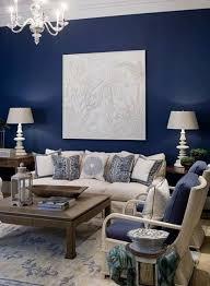 wandfarben wohnzimmer blau weiß blaues wohnzimmer
