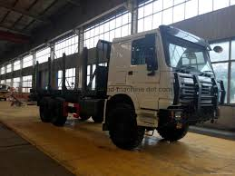 100 All Wheel Drive Trucks SINOTRUK ALL WHEEL DRIVE CARGO DUMP LOG TRUCK ZZ2317N4677C1