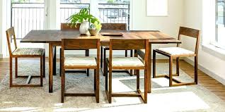 Pottery Barn Dining Small Spaces Room Table