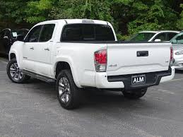 2017 Used Toyota Tacoma Limited Double Cab 5' Bed V6 4x4 Automatic ... Bay Springs Used Toyota Tacoma Vehicles For Sale Popular With Young Consumers And Offroad Adventurers 2008 Toyota Tacoma Double Cab Prunner At I Auto Partners 2017 Trd Off Road Double Cab 5 Bed V6 4x4 Marlinton Parts 2006 Sr5 27l 4x2 Subway Truck Inc 2016 For In Weminster Md Vin 2011 Daphne Al Tacomas Less Than 1000 Dollars Autocom Limited 4wd Automatic 2018 Sr Tampa Fl Stock Jx107421 2015 Prunner Sr5 Sale Ami