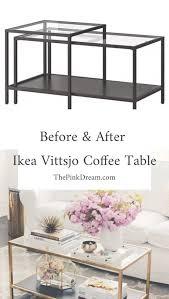 details of ikea vittsjo coffee table hack step by step ikea