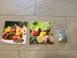 wandbilder bilder küche obst 19x19 neu