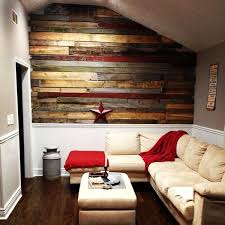 Pallet Living Room Astounding Rooms With Walls On Creative Wood Ideas Diy Pictures