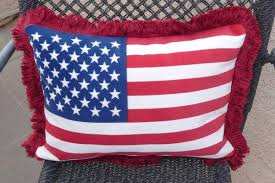 Patriotic American Flag Pillows – Fast & Easy Sewing Projects