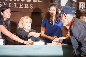 Barnes & Nobles Hillary Rodham Clinton Book Signing L A