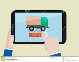 100 Renting A Truck Rent A Truck Stock Illustration Illustration Of Device 43676583