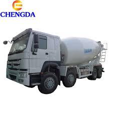 100 Concrete Truck Capacity Hot Item HOWO 6X4 Tanker 10 Cubic Meter Mixer