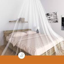 weiß bett baldachin gegen mücken moskitonetz 03473 2 20 x 8