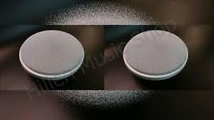 240watt 150mm decken lautsprecher paar sehr flach nur 3 5cm einbautiefe ebay