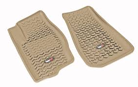 Jeep Commander Floor Mats Oem by Amazon Com Rugged Ridge All Terrain 12975 25 Black Cargo Liner