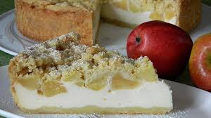 omas quark apfel streusel torte