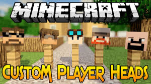 Minecraft 1 8 Tutorial How To Get Custom Player Heads In