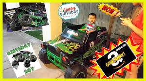 Part 4 (Final): Monster Truck Grave Digger Birthday Present Power ... Grave Digger Truck Wikiwand Hot Wheels Monster Jam Vehicle Quad 12volt Ax90055 Axial 110 Smt10 Electric 4wd Rc 15 Trucks We Wish Were Street Legal Hotcars Ride Along With Performance Video Truck Trend New Bright 18 Scale 4x4 Radio Control Monster Wallpapers Wallpaper Cave Power Softer Spring Upgrade Youtube For 125000 You Can Buy Your Kid A Miniature Speed On The Rideon Toy 7 Huge Monster Jam Grave Digger Hot Wheels Truck