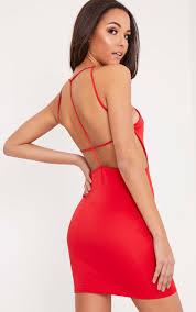 backless dresses low u0026 open back dress prettylittlething usa