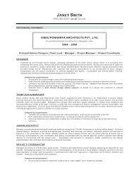 Resume Samples For Interior Designers Design Consultant Sample Com It