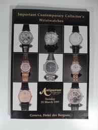 montre moderne et collection antiquorum auctioneers importantes montres bracelets moderne de