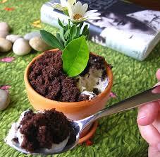 Recipe The Flower Pot Ice Cream Sundae